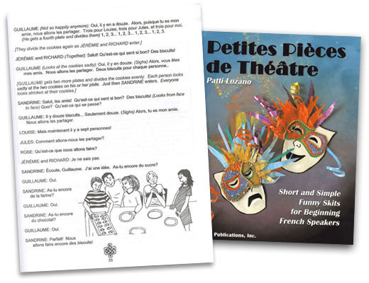 Petites Pieces de Theatre French Book
