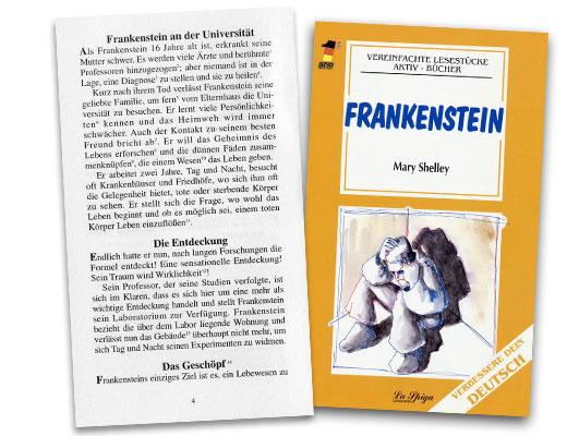 Frankenstein German Reader Mittelstufe 1