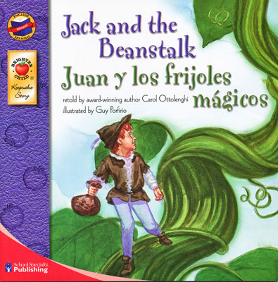 Jack and the Beanstalk Spanish/English Book