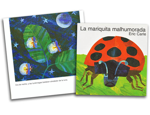 The Grouchy Ladybug Spanish Book