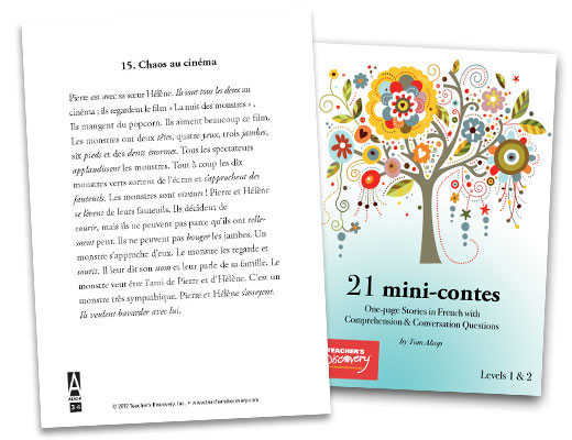 21 mini-contes French Reader
