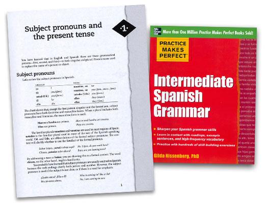 Practice Makes Perfect: Intermediate Spanish Grammar Exercise Book