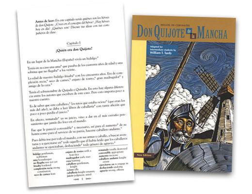 Don Quijote de la Mancha Spanish Reader