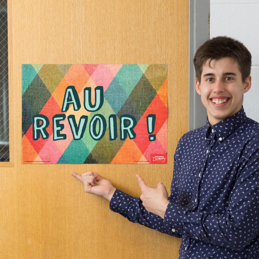 Goodbye French Mini-Poster