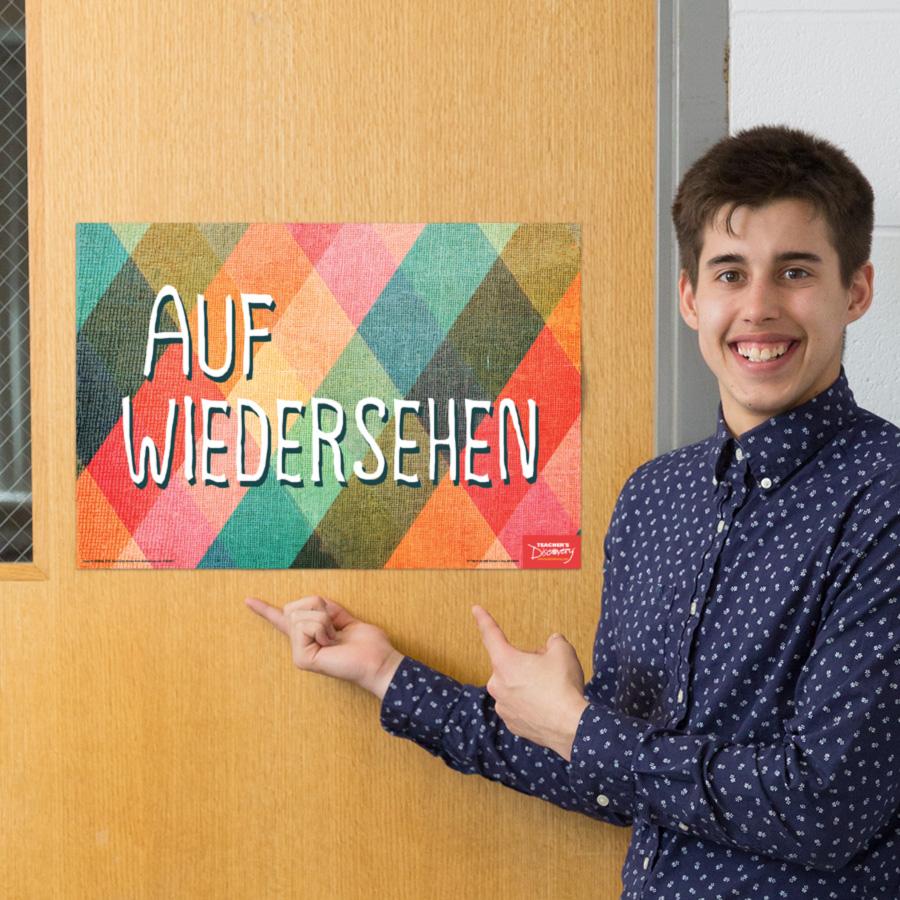 Goodbye German Mini-Poster