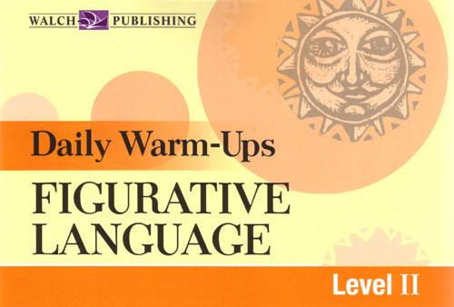 Daily Warm-Ups Figurative Language II Activity Book