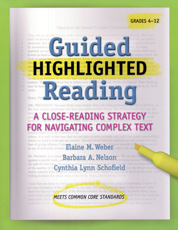 Guided Highlighted Reading Book