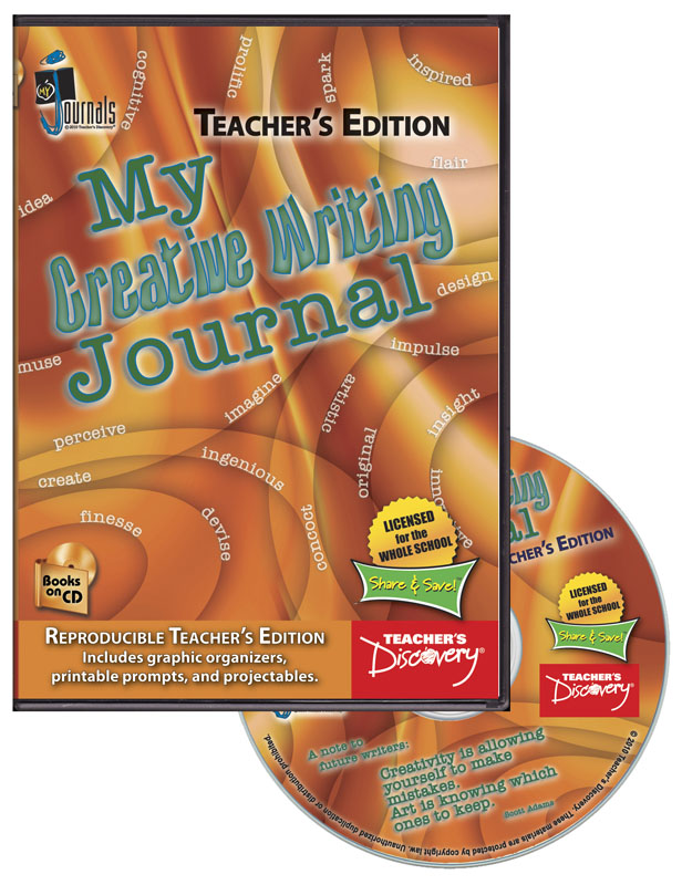 My Creative Writing Journal Teacher's Edition ~ CD-ROM