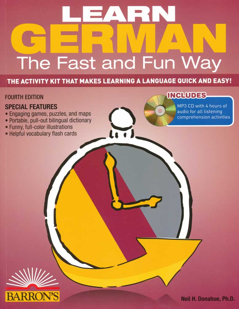 Learn German the Fast and Fun Way With MP3 CD