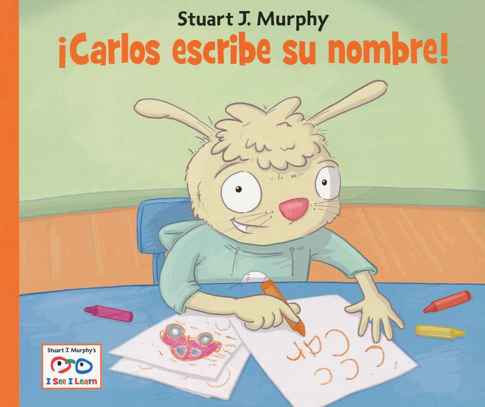 ¡Carlos escribe su nombre! Spanish Storybook