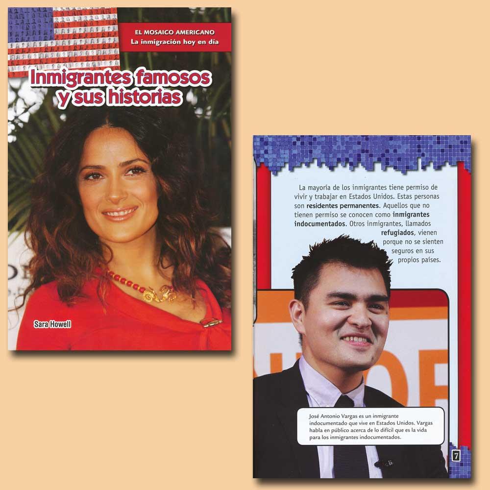 Inmigrantes famosos y sus historia