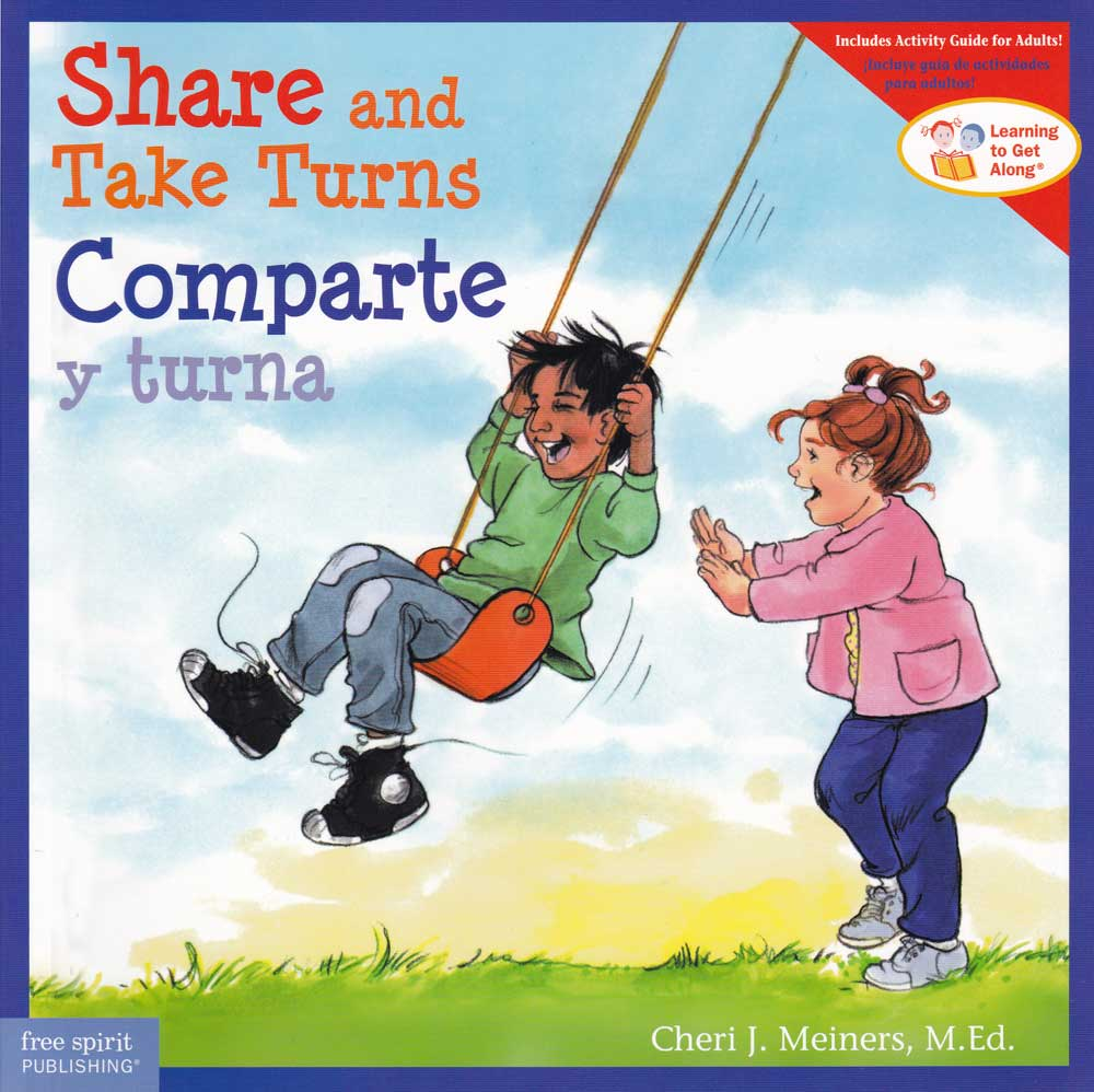 Comparte y turna / Share and Take Turns Bilingual Storybook