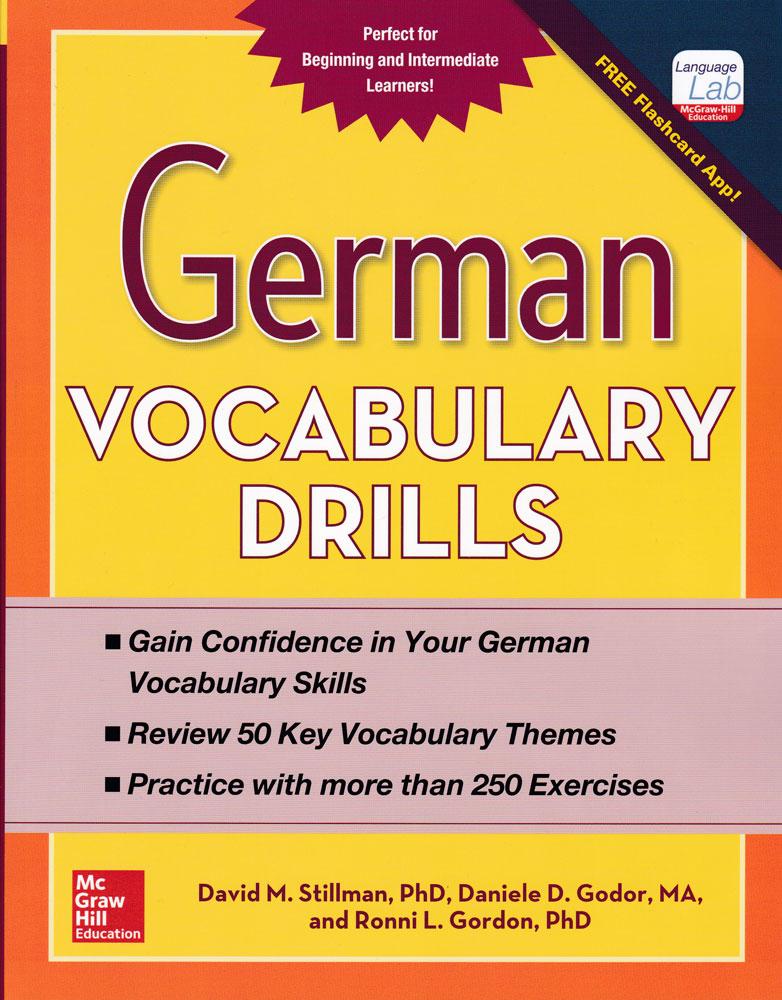 German Vocabulary Drills Book