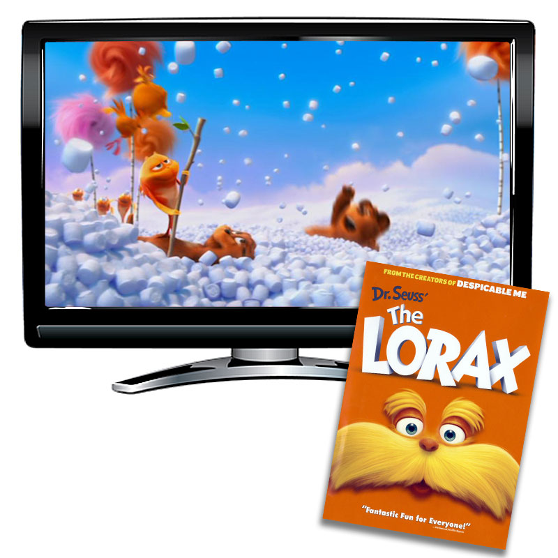 The Lorax Spanish / French DVD
