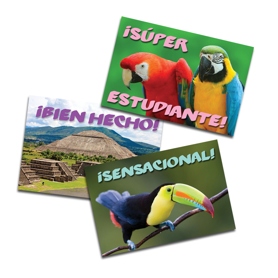 Sights of Latin America Spanish Stickers (60)
