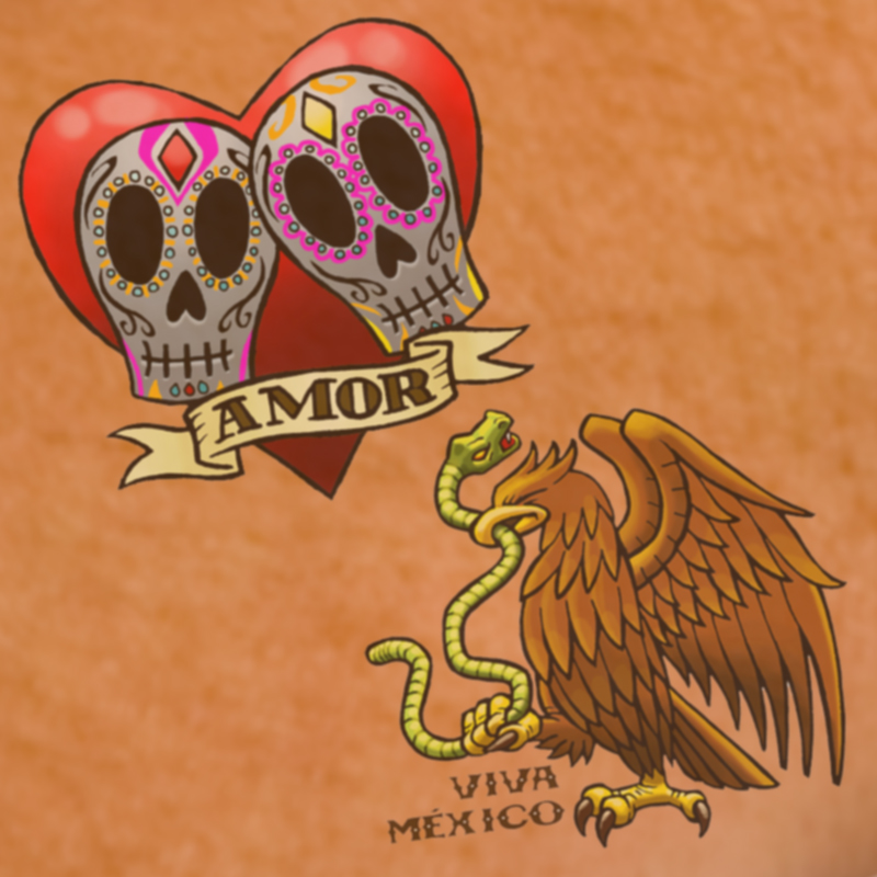 Temporary Spanish Tattoos(40)