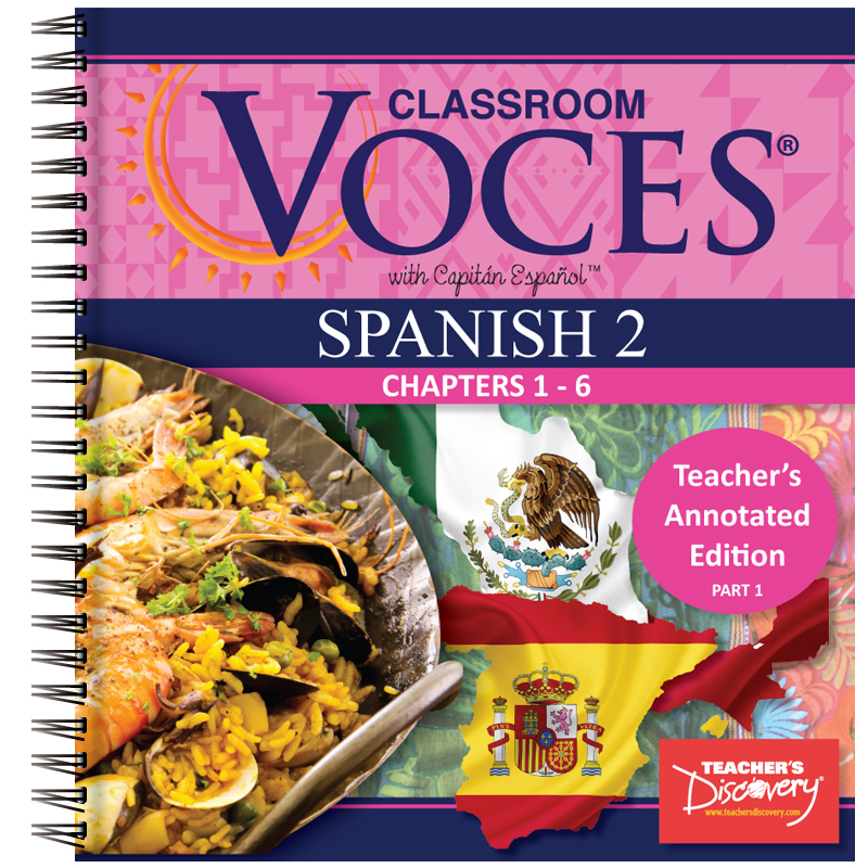 Voces® Spanish 2 Teacher's Annotated Edition