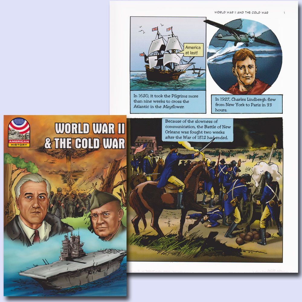 World War II and the Cold War Graphic Novel