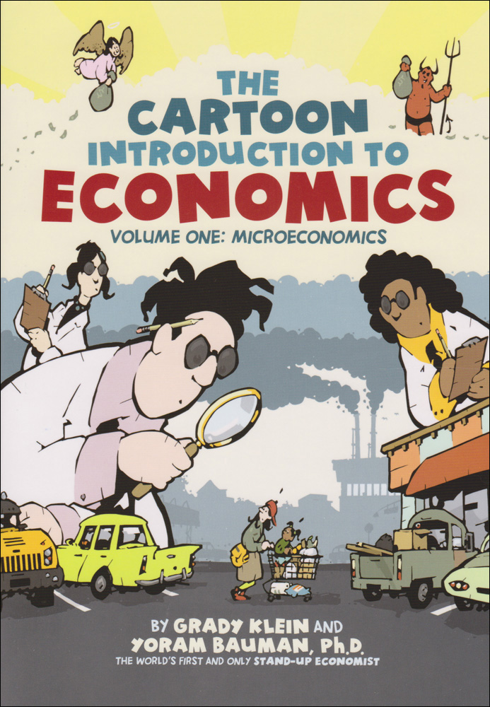 Cartoon Introduction to Economics Book