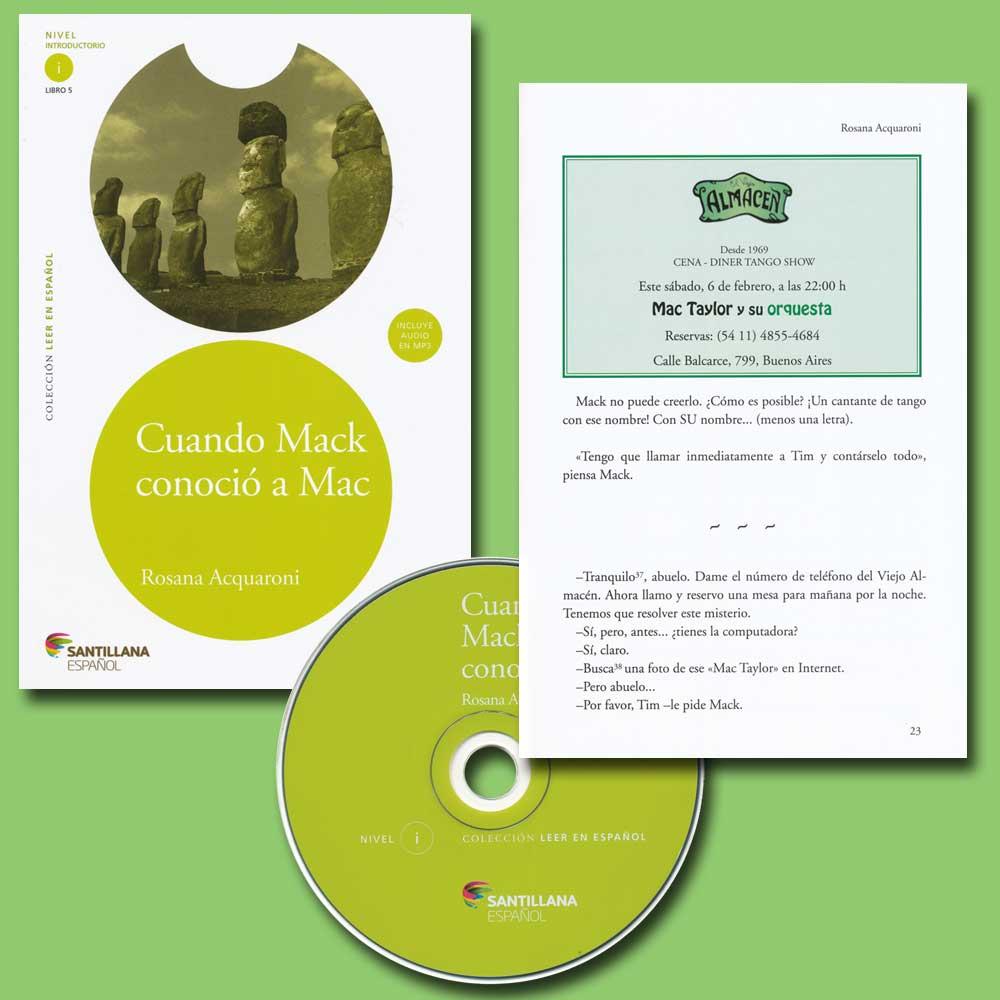 Cuando Mack conoció a mac Spanish Reader + Audio CD Nivel introductorio i Libro 5