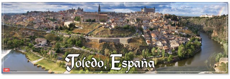 Toledo España Panoramic Poster (2013)