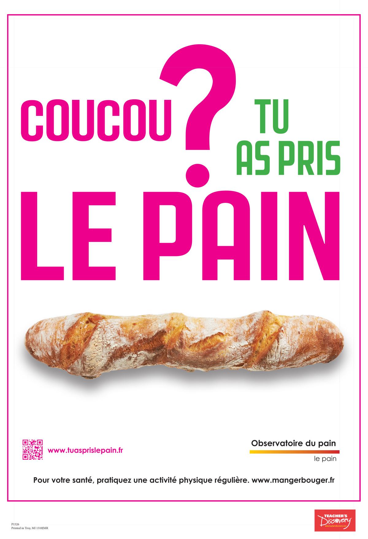 Le Pain Poster