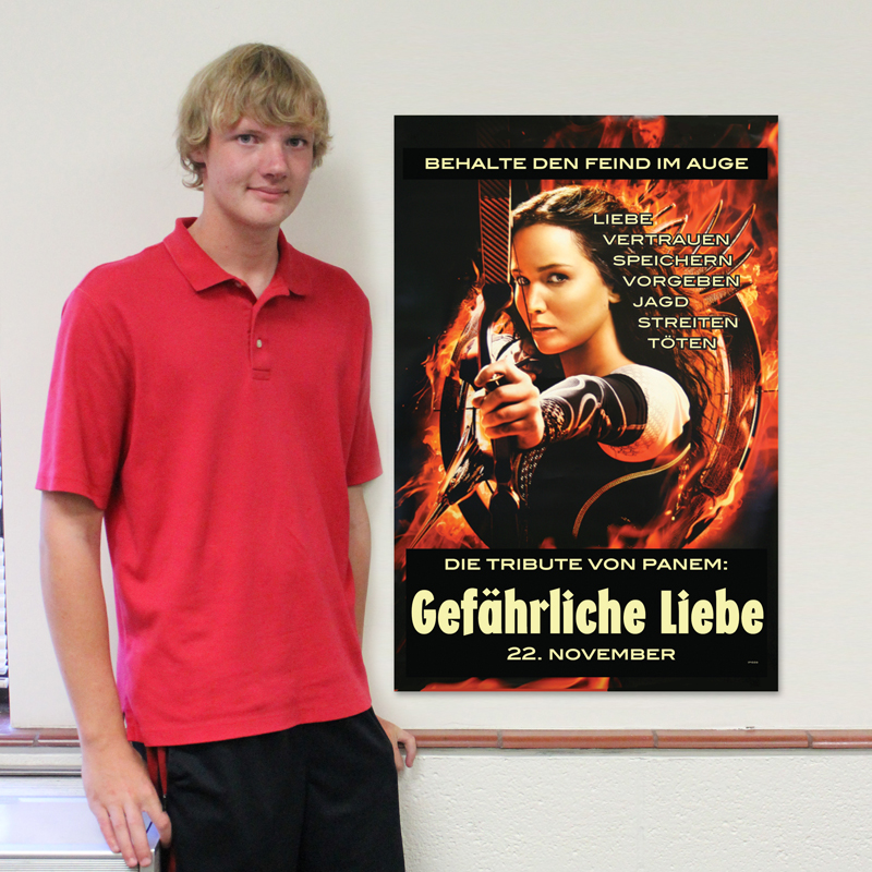 Catching Fire German Poster