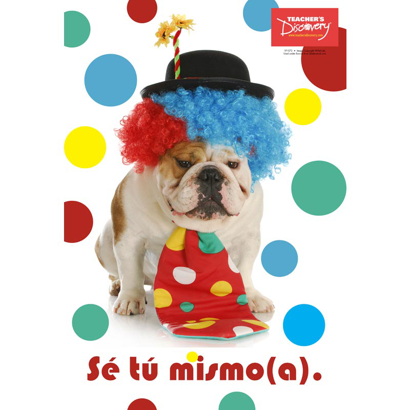 Be Yourself Spanish Mini-poster