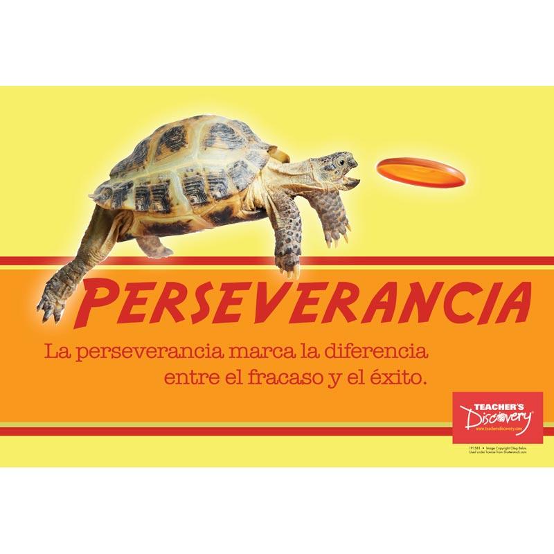 Persistence Spanish Mini-poster