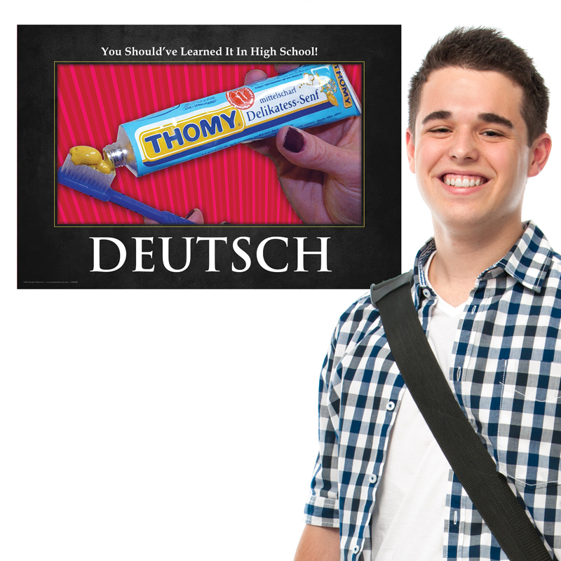 High School German Mini-poster