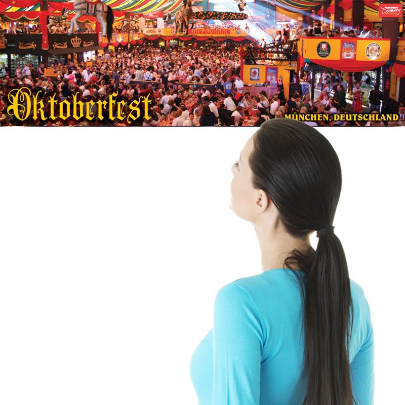 Oktoberfest Panoramic German Poster