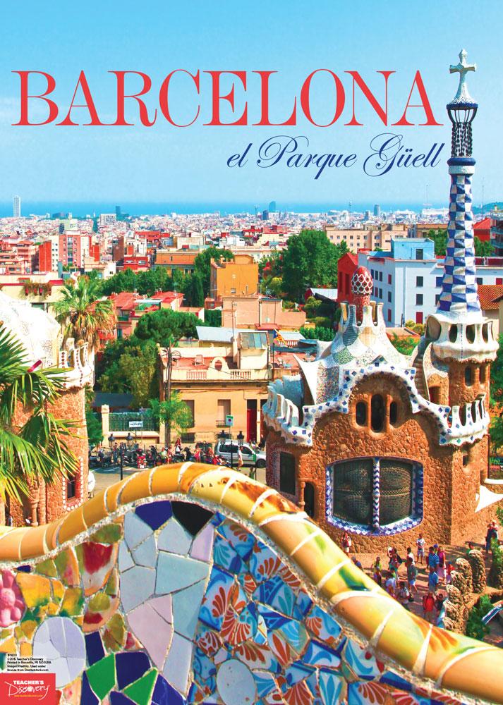 Barcelona Spanish Travel Poster