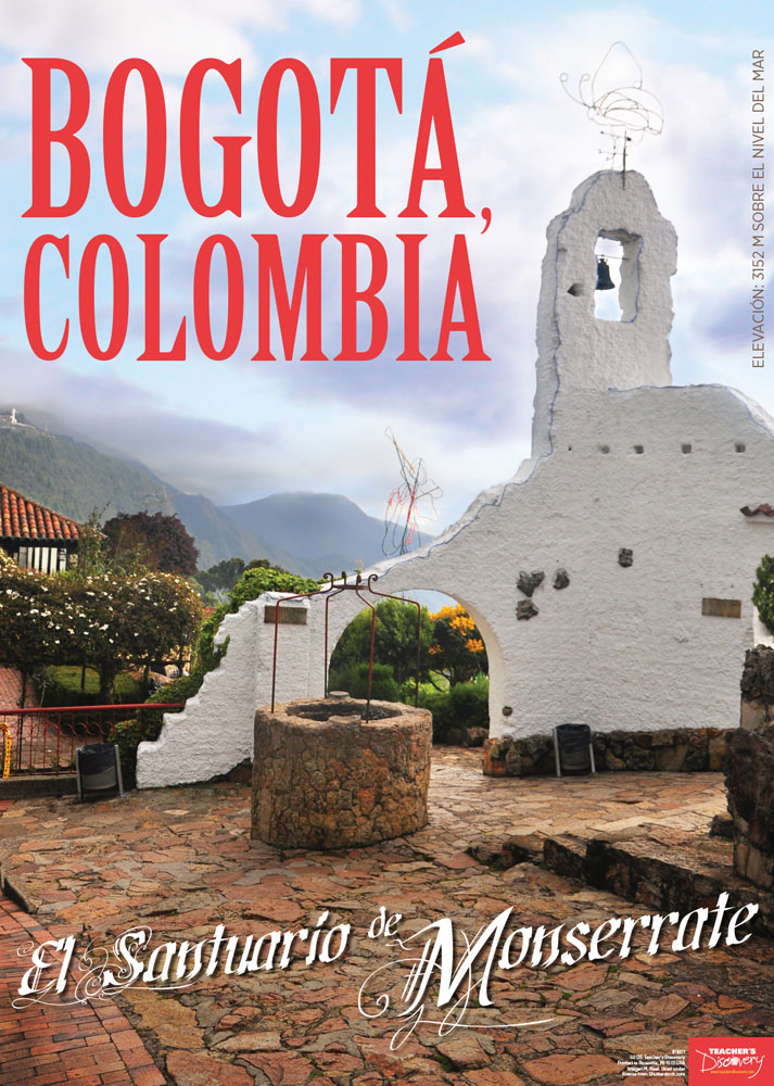 Colombia Spanish Travel Poster