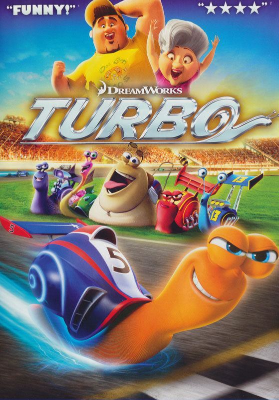 Turbo Spanish/French DVD