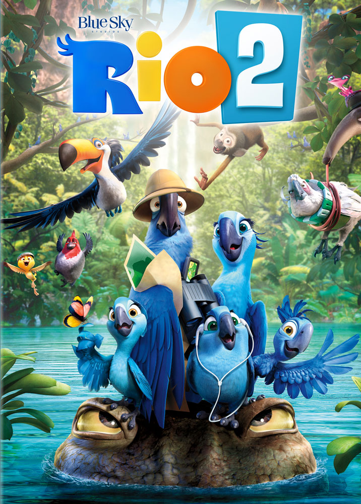 Rio 2 Spanish/French DVD