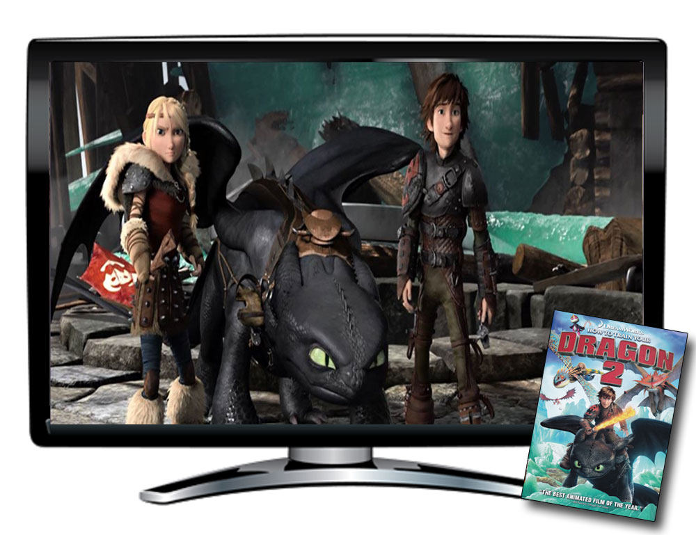 How to Train Your Dragon 2 Spanish/French DVD