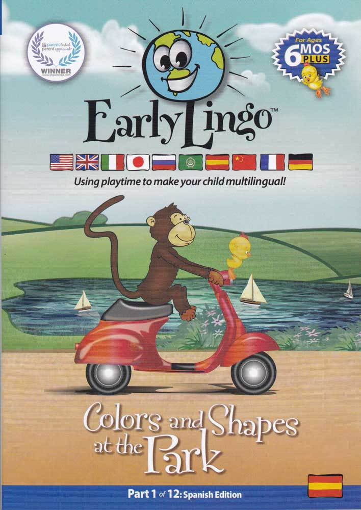Early Lingo Part 1 Colors and Shapes at the Park Spanish DVD