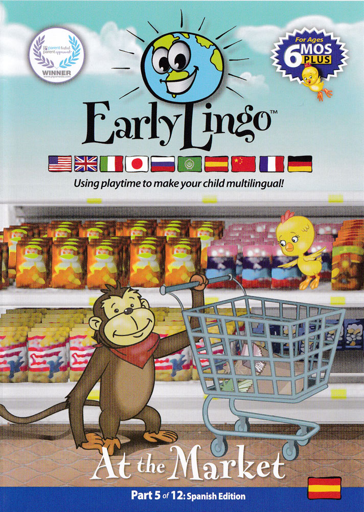 Early Lingo at the Market Spanish DVD
