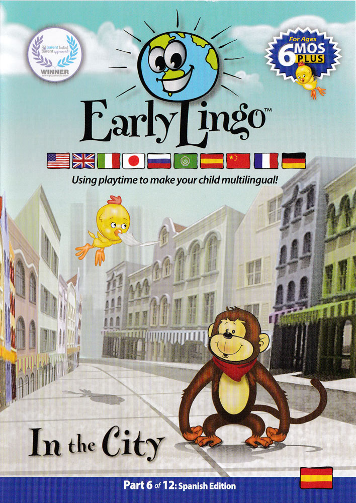 Early Lingo in the City Spanish DVD