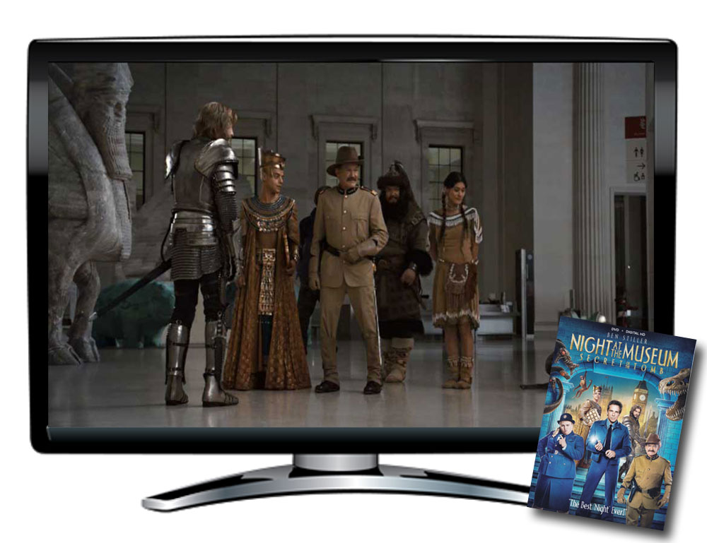 Night at the Museum: Secret of the Tomb Spanish/French DVD