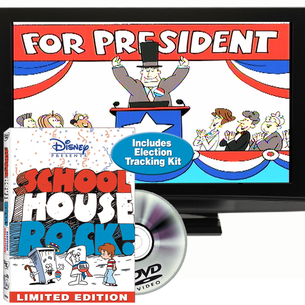School House Rock Election Collection DVD