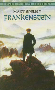Frankenstein Paperback Book (1040L)