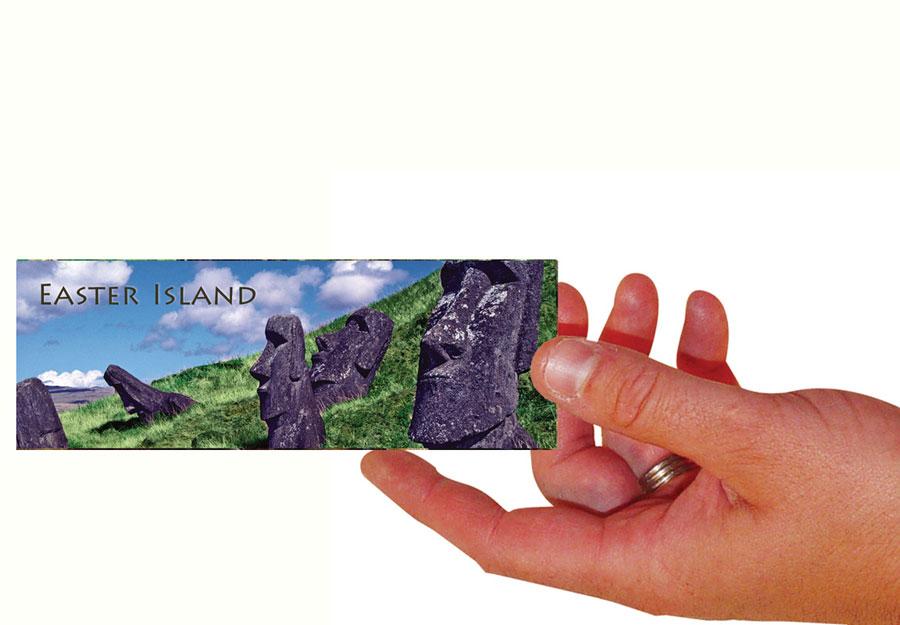 Easter Island Set Of 100 Bookmarks