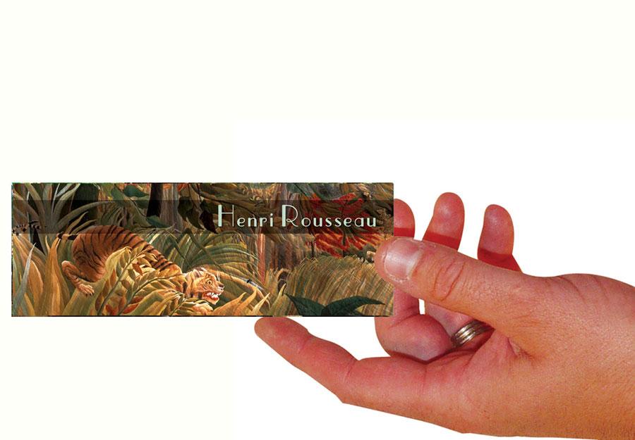 Henri Rousseau Set Of 100 Bookmarks