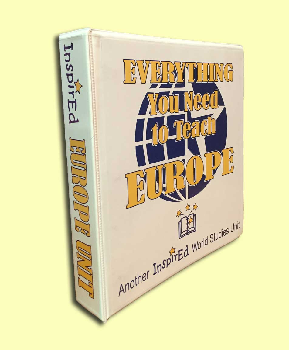 Everything You Need to Teach Europe Unit