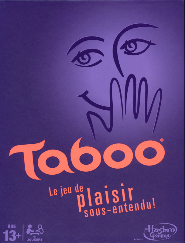 Taboo French Game