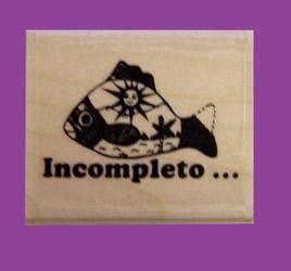 Incompleto Spanish Stamper