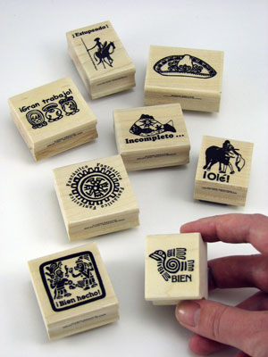 Spanish Stamper Set of 8
