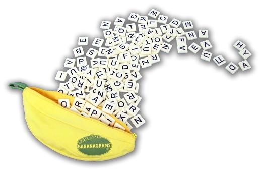 Spanish Bananagrams Game