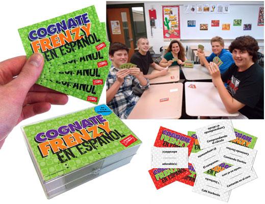 Cognate Frenzy en Español Game